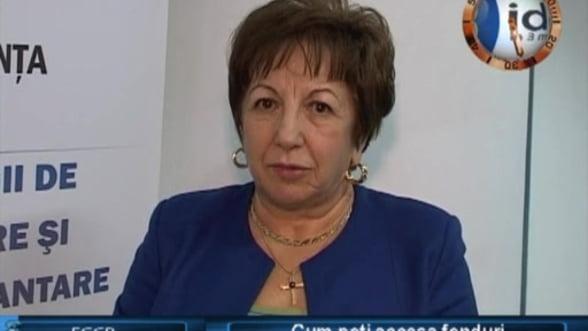 Veronica Toncea, director general Fondul de Garantare a Creditului Rural