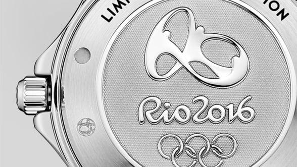 Vez cum arata ceasurile Omega dedicate Jocurilor Olimpice Rio 2016
