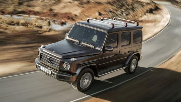 Vezi cum arata noul G de la Mercedes-Benz, cand va fi lansat si cat costa in Romania