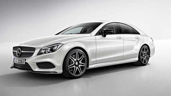 Vezi cum arata noul Mercedes CLS in tinuta de seara!