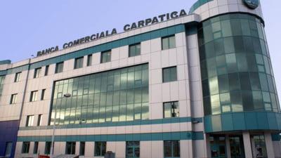 Banca Comerciala Carpatica: BNR a suspendat drepturile de vot ale actionarului majoritar
