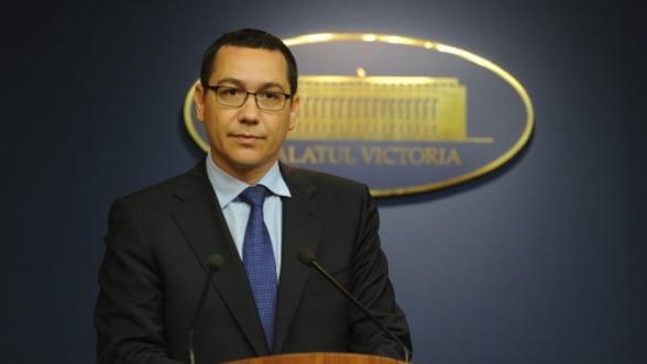 "Victor Ponta: ""Voi propune o ampla reforma constitutionala"""