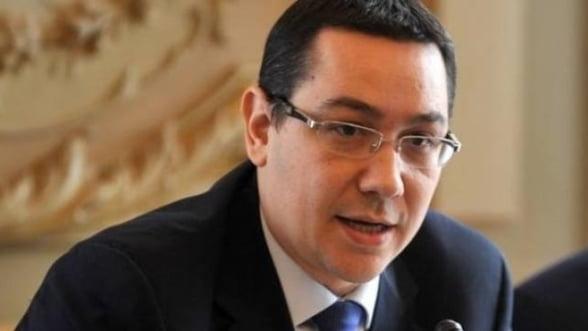 Victor Ponta: 2013 va fi mai bun, vom avea crestere economica de 2%