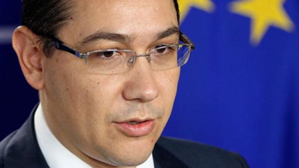 Victor Ponta: Pentru Romania este mai bine ca nu s-a ajuns la o solutie la Bruxelles