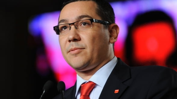 Victor Ponta: Proiectul de buget pentru 2013 va fi prezentat joi