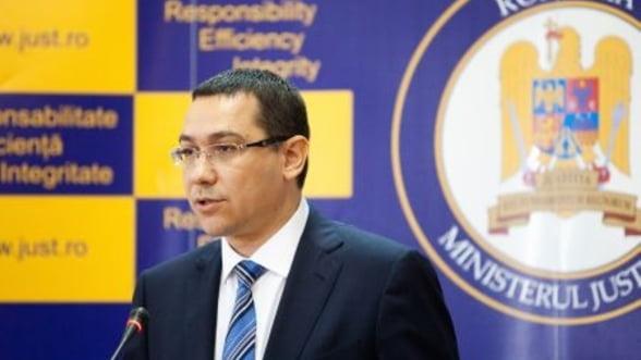 Victor Ponta: Schimbarea varfului ANAF a adus un plus de 10% la incasarile bugetului de stat