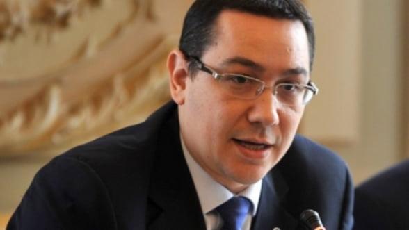 Victor Ponta: Trebuie sa reducem deficitul bugetar de la 2,9% la 2,4%