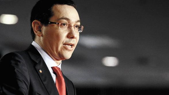 Victor Ponta, intervievat de WSJ: Romania va rezista majorarii cheltuielilor publice