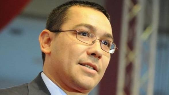 Victor Ponta: masura de impozitare diferentiata va fi amanata