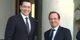 Victor Ponta schimba axa lui Basescu: Paris-Bucuresti, noua prioritate a Romaniei