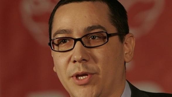 Victor Ponta vrea reforma Constitutiei