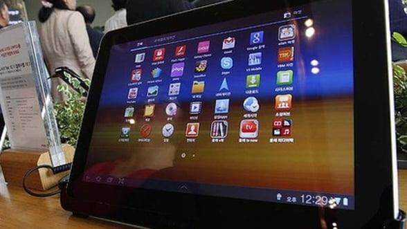 Victorie Apple impotriva Samsung: tableta Galaxy Tab 10.1 interzisa in SUA