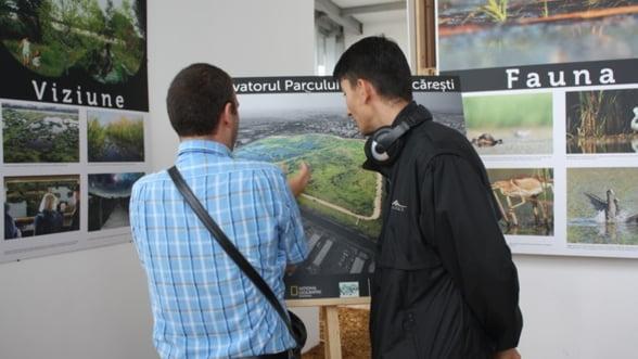 Victorie pentru mediu: A fost inaugurat Centrul de Observare al Parcului Natural Vacaresti Foto