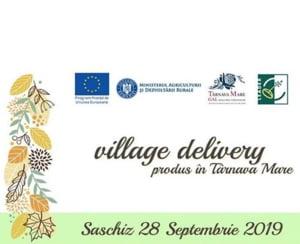 Village Delivery revine in Colinele Transilvaniei, sambata, la Saschiz