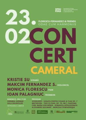 Violonista Kristie Su concerteaza pentru prima data la Sibiu