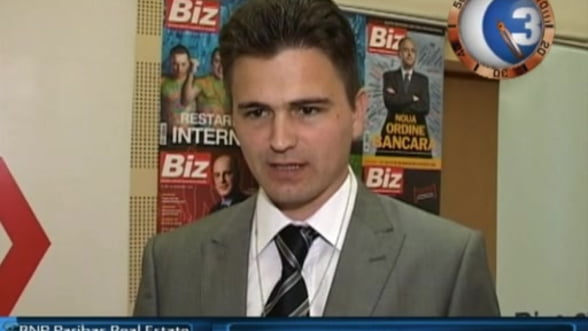 Viorel Lacatus, investment agency director BNP Paribas Real Estate