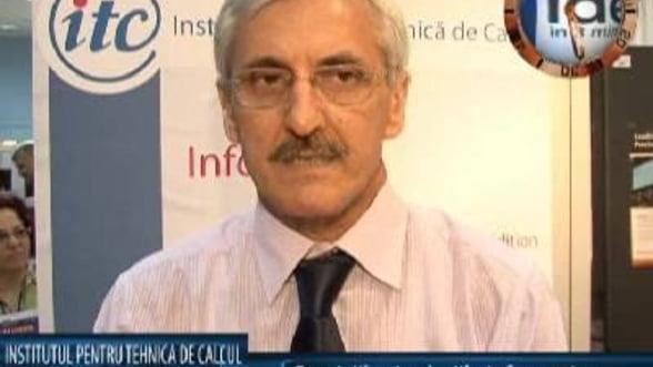 Virgil Geanta, sef department sisteme informatice Institultul pentru Tehnica de Calcul