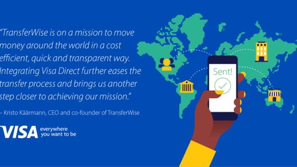 Visa si partenerii sai la nivel global extind accesul la platile transfrontaliere pentru consumatori si IMM-uri