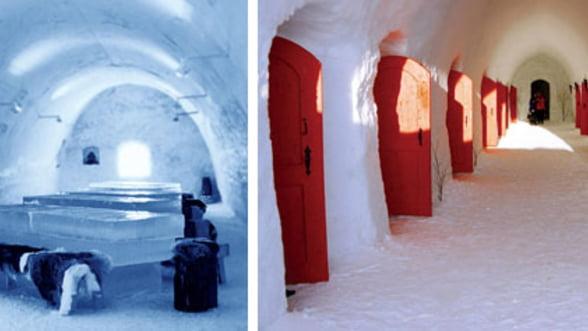 Visezi la o vacanta inedita? Vezi cele mai interesante hoteluri de gheata (Galerie foto)