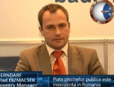 Vlad Dizmacsek: piata piscinelor publice este inexistenta in romania