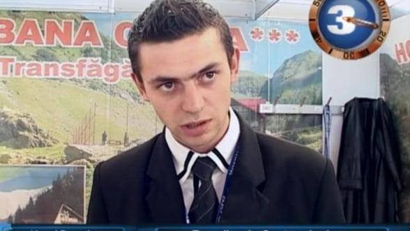 Vlad Mucenic, receptioner Hotel Posada