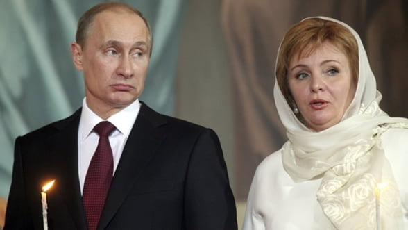 Vladimir Putin divorteaza. Ce avere primeste sotia sa, Ludmilla