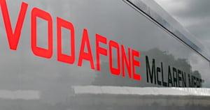Vodafone - sponsorul cu cea mai buna vizibilitate