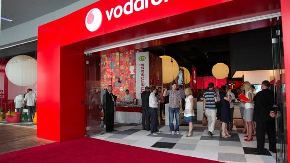 Vodafone: 7 milioane de euro pentru rebranduirea magazinelor