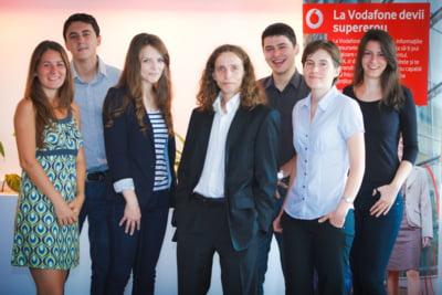 Vodafone ofera stagii de practica platite pentru studenti