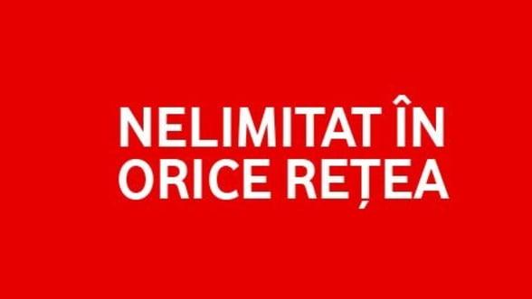 Vodafone a lansat abonamentele RED, cu minute nelimitate in orice retea