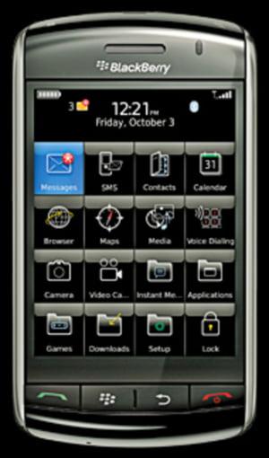 Vodafone va lansa in Romania Blackberry Storm si un laptop sub brand propriu