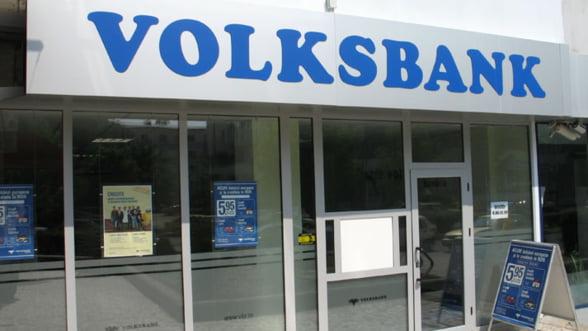 Volksbank: Rata creditelor neperformante va scadea de cinci ori in 2012