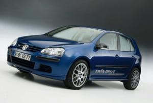 Volkswagen Golf Twindrive, primul pas al Germaniei spre automobilul complet electric