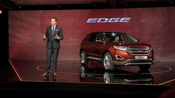 Vrei o masina americana? Ford aduce Edge in Europa