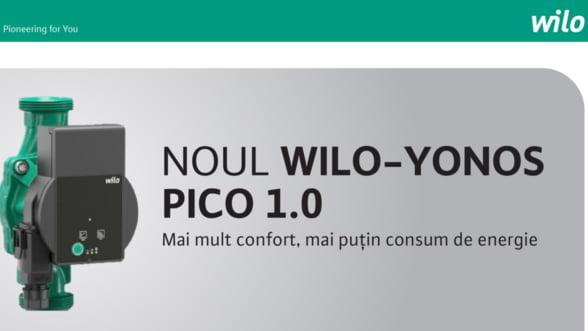 Wilo lanseaza o noua pompa - Wilo-Yonos PICO 1.0