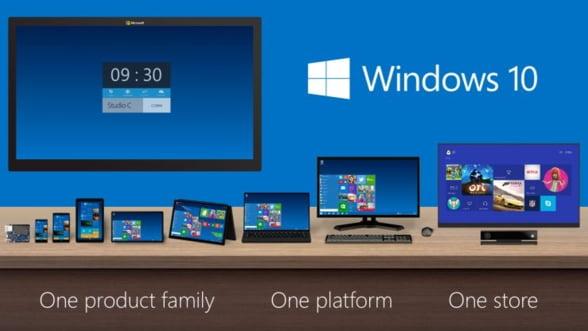 Windows 10, cel mai mare pariu al Microsoft. Ce ascunde saltul peste cifra 9