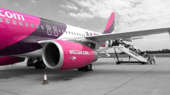 WizzAir ofera bilete de avion cu 20% mai ieftine pentru vacanta de Paste