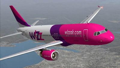 Investitia Wizz Air in Romania a atins aproximativ un miliard de dolari