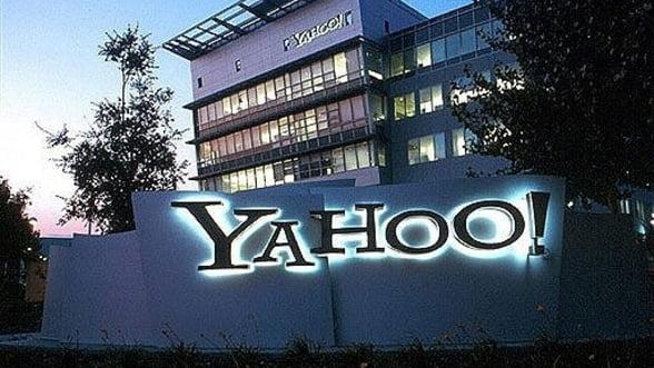Yahoo!: Rezultate financiare sub estimarile analistilor