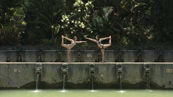 Yoga subacvatica, noua atractie exotica pentru un sejur zen (Video)