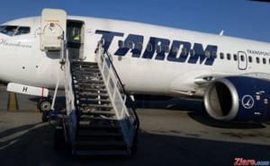Zbor TAROM anulat dupa ce pasagerii au stat in avion mai mult de o ora. La bord erau ministrul Apararii, comisarul Corina Cretu si un secretar de stat de la Transporturi