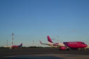 Zborul Wizz Air Liverpool-Craiova cu 150 de pasageri a fost anulat din cauza uraganului