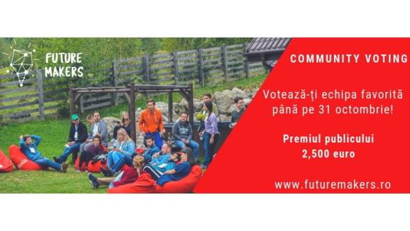 Zeci de tineri concureaza pentru a-si transforma ideile in afaceri pentru Romania viitorului