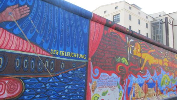 Zidul Berlinului, amenintat cu disparitia de catre dezvoltatorii imobiliari
