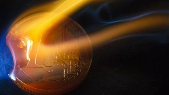 Zona euro, amenintata de spirala deflationista