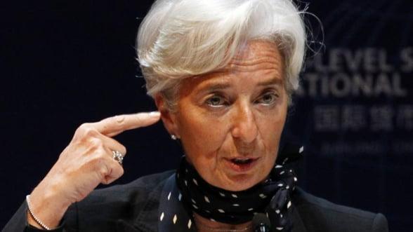 Zona euro trebuie sa inchida unele banci - Christine Lagarde