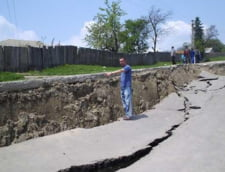 alunecari de teren la Seciuri, Gorj