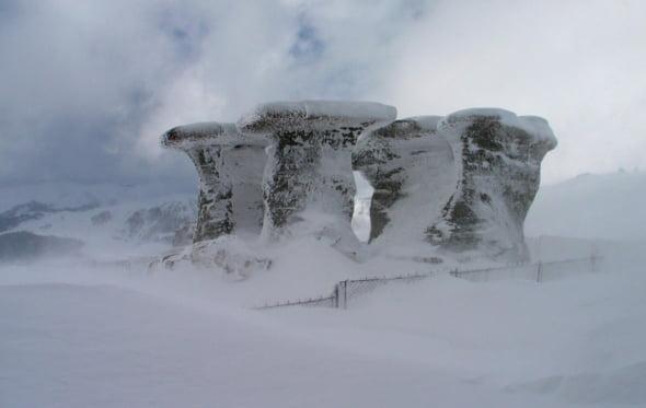 Babele iarna