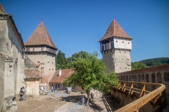 biserica fortificata Alma Vii