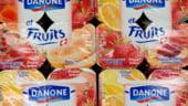 Danone obtine profit de peste 900 milioane de euro in primul semestru